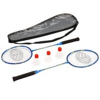 Badmintono rinkinys ROX 2000, 2 raketės + 3 plunksnelės Badmintono rinkiniai
