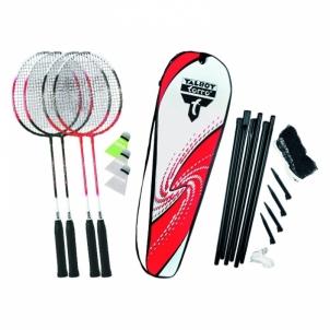 Badmintono rinkinys Set 4-attacker plus Badmintono rinkiniai