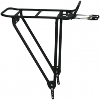 Bagažinė ACR-40-Alu matt black Bicycle accessories