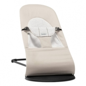 Balansinė kėdutė Bouncer Balance Soft Beige/Grey,Cotton/Jersey Power chairs