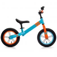 Balansinis dviratis METEOR mėlina/oranžinė sp. 12 Balansiniai dviratukai