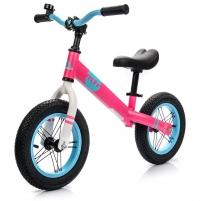 Balansinis dviratis METEOR Rožinė/mėlyna Balansiniai dviratukai