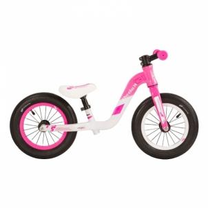 Balansinis dviratukas Scool pedeX 1-pink/grey matt 12 Balansiniai dviratukai