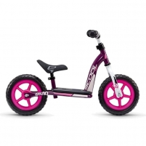Balansinis dviratukas Scool pedeX easy 10- violet/pink 10 Balansiniai dviratukai