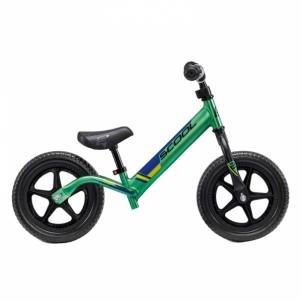 Balansinis dviratukas Scool pedeX race light- anodized green/black 10 Paspirtukai, balansiniai dviračiai