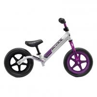 Balansinis dviratukas Scool pedeX race light- anodized silver/purple 10 Paspirtukai, balansiniai dviračiai