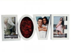 Baltas nuotraukų rėmelis Love Šventinės prekės