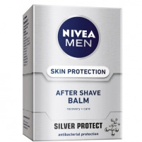 Balzamas po skutimosi Nivea Silver Protect 100 ml Losjons balzami