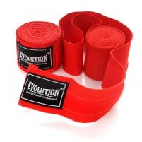 Bandažai boksui SB-300 Evolution 4,5 m, raudoni Boksa piederumi