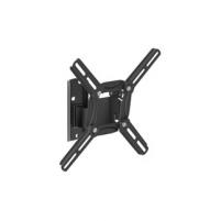BARKAN 2200.B 26-39 LED TV, 2 lankstų, sieninis, juodas TV stovai, laikikliai