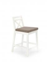 Baro kėdė BORYS LOW balta / INARI 23 Baro, restorano kėdės