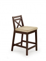Bar chair BORYS LOW tamsus nut / VILA 2 Bars and restaurant chairs