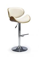 Baro kėdė H-44 riešutas/kreminė Baro, restorano kėdės
