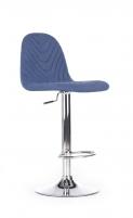 Baro kėdė H82 mėlyna