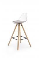 Baro kėdė H91 šviesiai pilka Baro, restorano kėdės