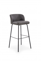 Bar chair H92 tamsiai pilka Bars and restaurant chairs