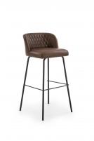 Baro kėdė H92 tamsiai ruda