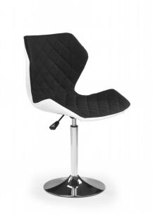 Baro kėdė MATRIX 2 balta/juoda Baro, restorano kėdės