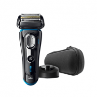 Barzdaskutė Braun Electric Foil Shaver 9240S Wet use, Rechargeable, Charging time 1 h, Lithium Ion, Rechargable battery, Number of shaver heads/blades 5, Black