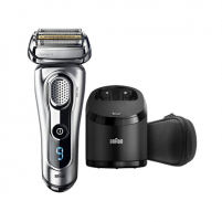 Shaver Braun Men's Electric Foil Shaver 9291 Series 9 Wet use, Rechargeable, Charging time 1 h, Li-Ion, Battery, Silver Shaving