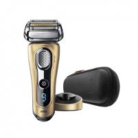 Barzdaskutė Braun Men's Electric Foil Shaver 9299s Series 9 Wet use, Rechargeable, Charging time 1 h, Li-Ion, Battery, Golden