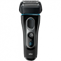 Barzdaskutė Braun Shaver 5147PS Cordless, Charging time 1 h, Wet use, Li-Ion, Number of shaver heads/blades 2, Black