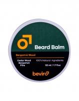 Barzdos vaškas Be-Viro Men´s Only Cedar Wood 50ml Priemonės barzdos ir ūsų priežiūrai