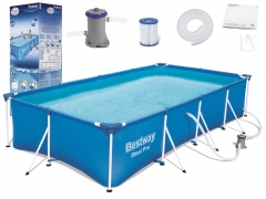 "Baseinas Bestway ""Steel Pro Splash Frame"" 400 x 211 x 81 cm Outdoor swimming pools"