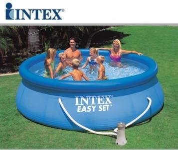 Baseinas INTEX Easy Set 396 x 84 cm, su vandens valymo pompa