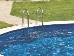 Pool ladder Slim (three tiered) Pool ladders, steps