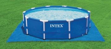 Baseino patiesalas INTEX Krystal Clear, 488 x 488 cm Baseinų priedai, aksesuarai