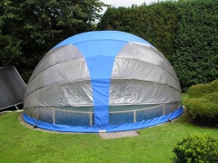 Round pool cover 4.9m Pools in the curtain