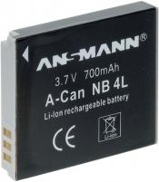 Baterija Ansmann NB-4L A-Can