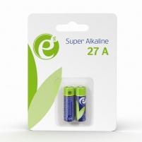 Baterija Energenie Alkaline 27A battery, 2-pack Baterijos, elementai, įkrovikliai