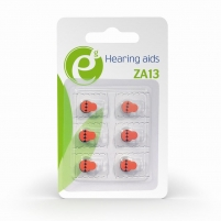 Baterija Energenie Hearing aids button cell ZA13, 6-pack, blister