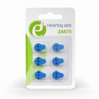 Baterija Energenie Hearing aids button cell ZA675, 1.4V, 6-pack, blister