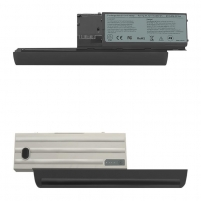 Baterija Qoltec Long Life Notebook Battery - Dell Latitude D630 | 6600mAh | 11.1V