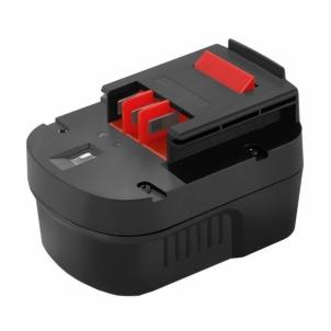 Baterija Qoltec Power tools battery for Black&Decker A12EX | 3000mAh | 12V Tool batteries and chargers