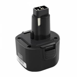 Baterija Qoltec Power tools battery for Dewalt/ Black&Decker A9251 | 2000mAh | 9.6V Rīks akumulatorus un lādētājus