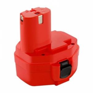 Baterija Qoltec Power tools battery for Makita 1234 1420 1422 | 3000mAh | 14.4V Rīks akumulatorus un lādētājus