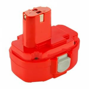 Baterija Qoltec Power tools battery for Makita 1822 1823 1833 | 3000mAh | 18V Rīks akumulatorus un lādētājus