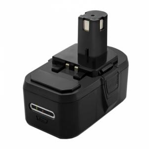 Baterija Qoltec Power tools battery for Ryobi BPL-1815, P102 | 4000mAh | 18V Tool batteries and chargers