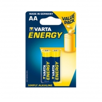 Baterijos VARTA alkaline batteries R6 (AA) 2pcs energy Baterijos, elementai, įkrovikliai
