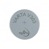 Baterijos VARTA argentic battery V303 (typ SR44) 1 pcs Baterijos, elementai, įkrovikliai