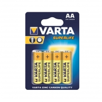 Baterijos VARTA zinc carbon batteries R6 (AA) 4pcs superlife Baterijos, elementai, įkrovikliai