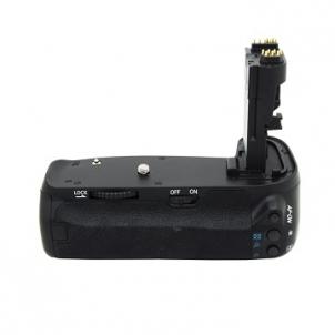 Baterijų laikiklis Meike Canon 70D Kameras bateriju turētāji (grip)