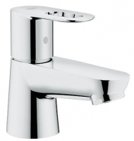 BauLoop pillar tap basin smooth body