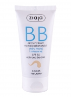 BB kremas Ziaja Natural Oily and Mixed Skin 50ml SPF15 Krēmi sejai