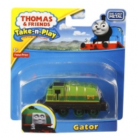 BCW92 / T0929 Fisher Price THOMAS & FRIENDS Take-n-Play Паравозик Gator