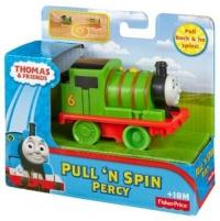 Traukinukas BCX67 / BCX65 Thomas & Friends (Pull-n-Spin) Geležinkelis vaikams